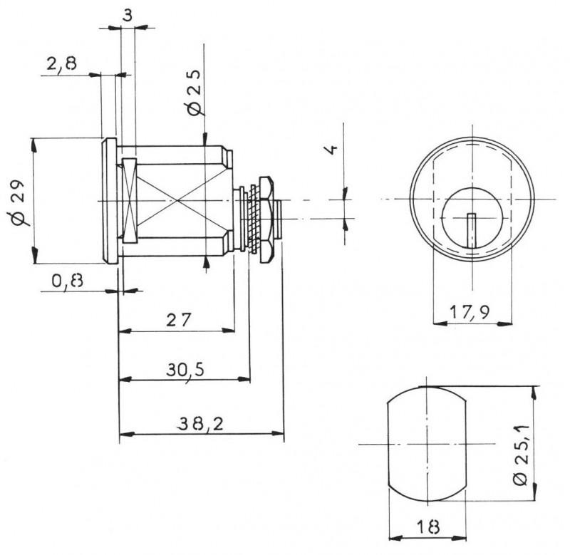serrure batteuse bal norme ptt 2 cles quincaillerie clefor serrures cl s. Black Bedroom Furniture Sets. Home Design Ideas