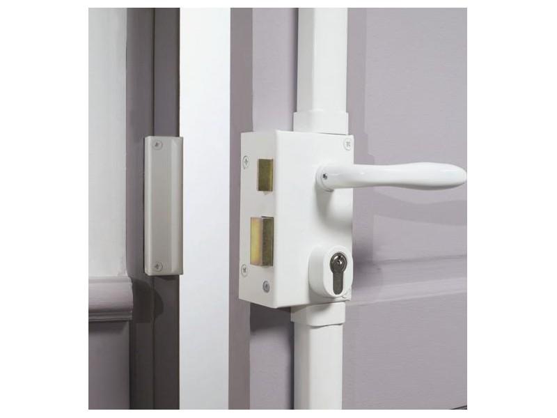 Serrure verticale en applique 3 points profil europeen bricard quincaillerie clefor serrures - Serrure bricard 3 points ...