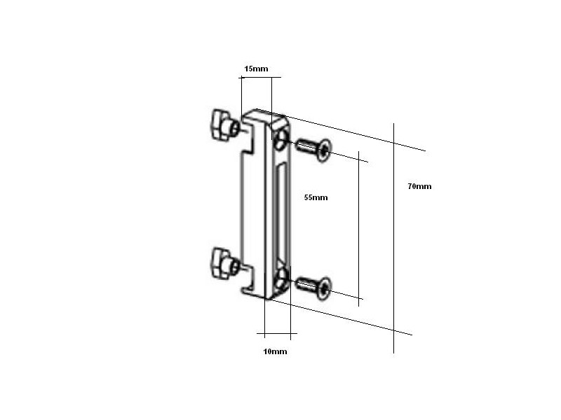 g che pour coulissant technal gm 2959 quincaillerie clefor serrures cl s. Black Bedroom Furniture Sets. Home Design Ideas
