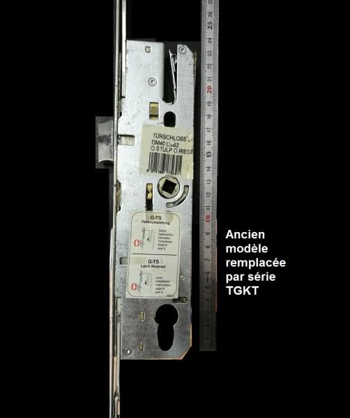 Crémone Si Aubi Agkt 7330 Ffh 1700 2300 Axes 4092mm Quincaillerie